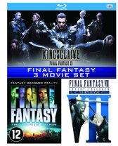 Final Fantasy VII: Advent Children / Final Fantasy: The Spirits Within / Kingsglaive: Final Fantasy XV ( Box)