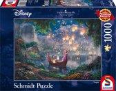 Thomas Kinkade's Disney Rapunzel, 1000 stukjes Puzzel