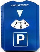 Ijskrabber auto | Parkeerkaart | Blauwe kaart | Ijskrabber parkeerschijf