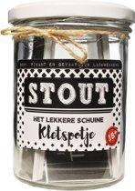 Kletspotje Stout! | Kletspot | Kletskaarten | 18+