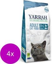 Yarrah Brokjes Bio Kat - Kattenvoer - 4 x Vis 800 g