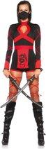 """""""Sexy ninja kostuum voor dames  - Verkleedkleding - Large"""""""