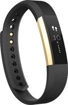 Fitbit Alta - Activity tracker - Zwart/Goud - Large