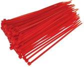Kabelbinders Tie-Wraps 100x3.6mm Rood