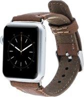 Bomonti Leather Leren bandje - Apple Watch Series 1/2/3 (38mm) - Bruin