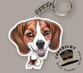 Sleutelhanger Hond Beagle