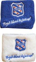 Sc Heerenveen zweetbandjes - pak à 2 polsbandjes