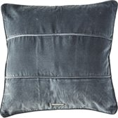 Riviera Maison - Velvet         - Pillow Cover - Dark Grey - 50x50