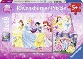 Ravensburger Disney Princess puzzels 49 stukjes