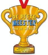 Trofee met lint - Trophy - Meester