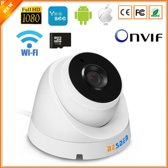 BESDER | ONVIF | IP | Wifi | 720P | Wirless | Dome |SD Card Max 64GB
