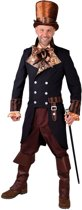 Steampunk Kostuum | Tijdmachine Steampunk Jas Man | Large | Carnaval kostuum | Verkleedkleding