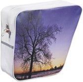 Selle Monte Grappa Sunset Fietstas / Pakaftas set - Links + Rechts - Kunstleer - Blauw / Wit