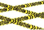 Caution Chevron Tape