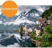 Schilderen op nummers - Paint by numbers - Zwitserland - Volwassenen - DIY - Verven