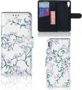 Sony Xperia L3 Hoesje Blossom White