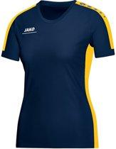 Jako Striker Indoor Shirt Dames - Shirts  - blauw donker - 34