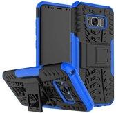 Samsung Galaxy S8 Schokbestendige Back Cover Blauw