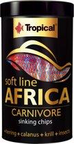 TROPICAL Softline Africa carnivore chips  130gr/250ml