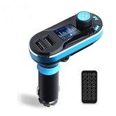 Bluetooth FM Transmitter voor in de auto - ZT – Handsfree bellen carkit met AUX / SD kaart / USB - Ingangen - Bluetooth Handsfree Carkits / adapter / auto bluetooth / LCD Display - T66 FM Transmitter