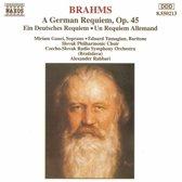 Brahms: Ein Deutsches Requiem / Rahbari, Gauci, Tumagian