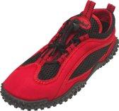 Playshoes surfschoentjes uni rood