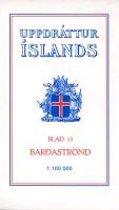 Topographische Karte Island 13 Bardastrond 1 : 100 000
