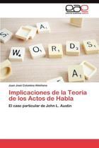 Implicaciones de La Teoria de Los Actos de Habla