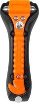 Veiligheidshamer / Noodhamer Classic Met Gordelsnijder 17cm