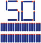 50 Pijlen/Darts/Kogels geschikt voor NERF N-Strike Elite speelgoedblasters