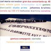 Compositions Pour La Clarinette Ave