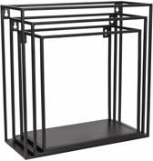 Kidsdepot wall box 3-set black wall box 3-set black