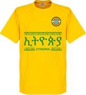 Ethiopië Team T-Shirt - Geel - XL