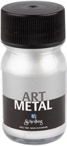 Art Metal verf, zilver, 30ml