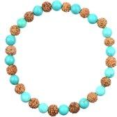 Acamar Turquoise Mala Armband M | 19 cm