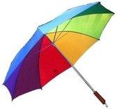 Paraplu Parasol -  Regenboog