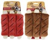 AFP BBQ pluche - Hondenspeelgoed Delicious Pork Rib L