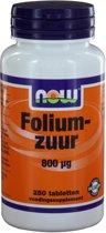 VitOrtho Now Foliumzuur 800 mcg Tabletten 250 st