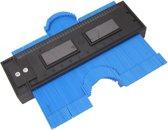 Profielmeter profielkam profiel mal meter 125mm 12.5cm