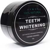 Natural Teeth Whitening - Dermarolling - Activated Charcoal Tandenbleker 30g.