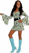 Jaren 70 groovy kostuum voor vrouwen - Volwassenen kostuums