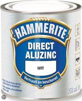 Hammerite Direct Over Aluzinc Wit 750ML
