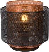 Lucide ORRIN - Tafellamp - Ø 25 cm - E27 - Zwart