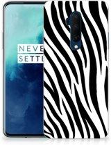 OnePlus 7T Pro TPU Hoesje Zebra