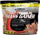 Muscletech 100% Premium Mass Gainer - 5455 gram - Chocolate