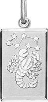 Hanger Sterrenbeeld  Schorpioen- Zilver