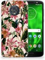 Motorola Moto G6 Uniek TPU Hoesje Flowers