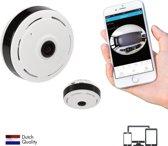 SEC24 CAM350 IP bewakings camera – 360° zicht – fisheye - 920P HD - binnen