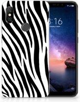 Xiaomi Redmi Note 6 Pro TPU Hoesje Design Zebra