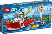 LEGO City Brandweerboot - 60109